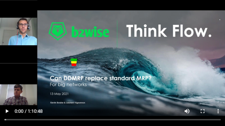 Can DDMRP replace standard MRP.