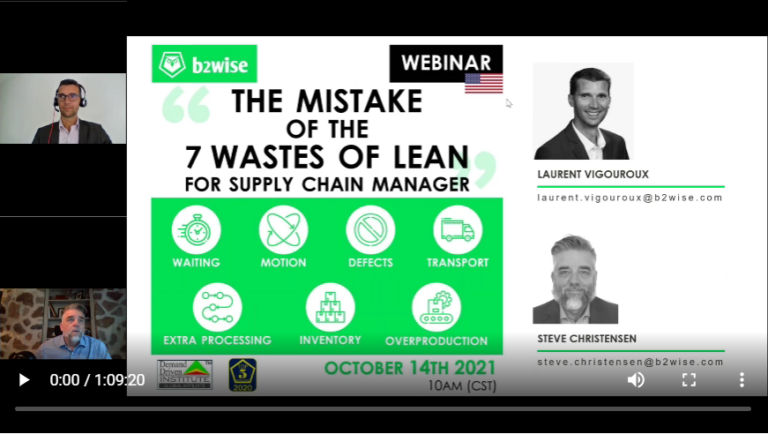 The mistake of the 7 waste of lean